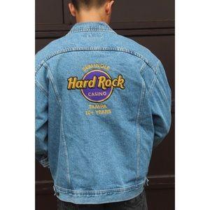 VTG Lee Hard Rock Casino Denim Jacket